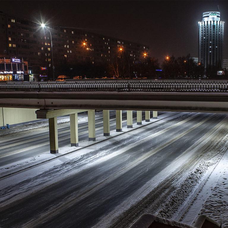 В настоящее время нашими светильниками BSE 153 освещается мост Мэрии г. Набережные Челны