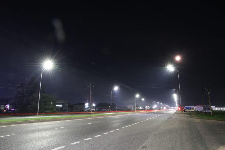 """Еще одним ярким примером """"умного освещения"""" является освещение федеральной трассы."""