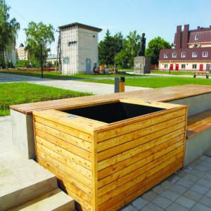 Ящик для кустов и деревьев